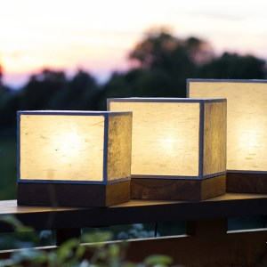 Lampes Andon 行灯 cubes
