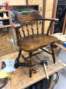 椅子解體修理   木工房 YZ