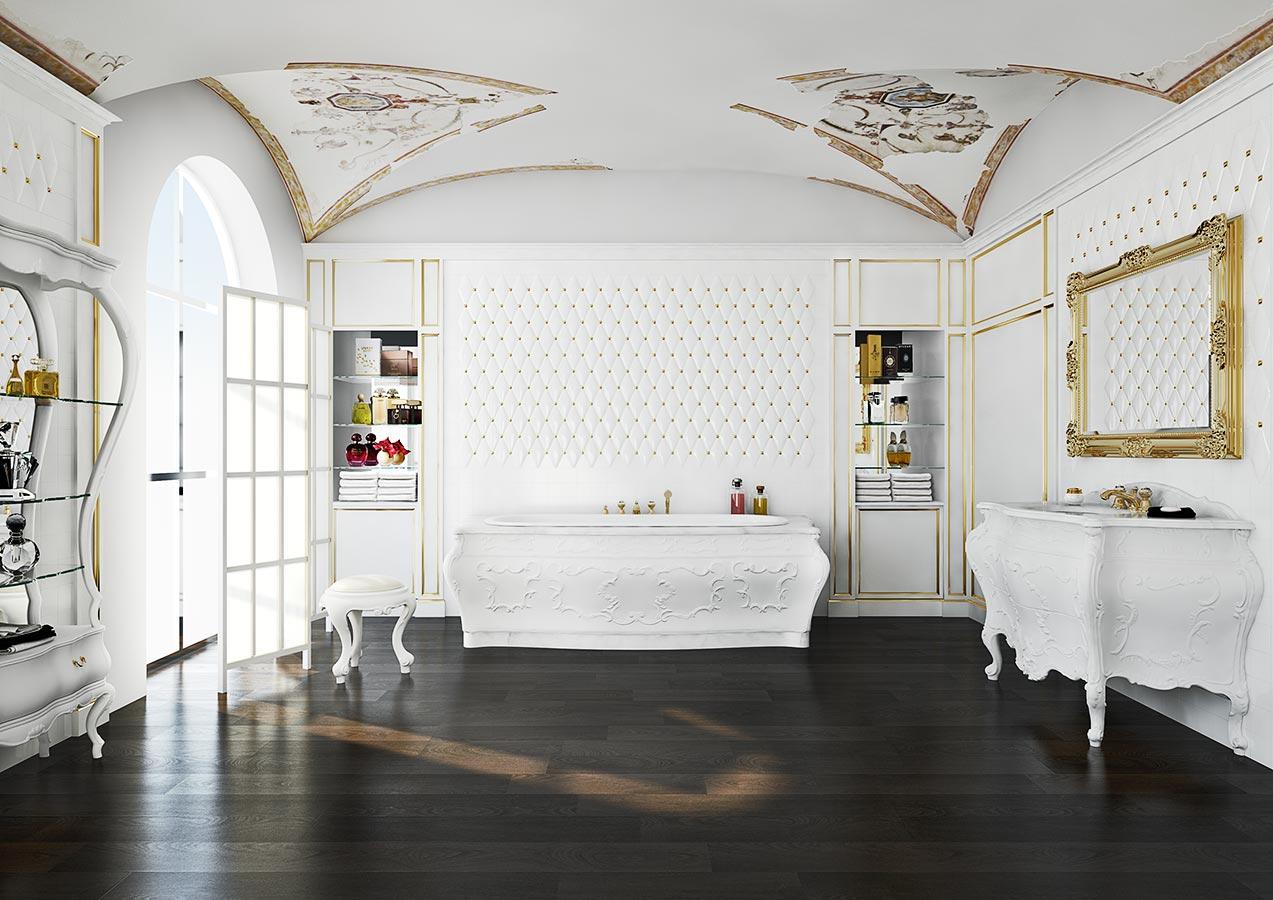 Mobili bagno per Sala da Bagno in stile 700 Bianchini