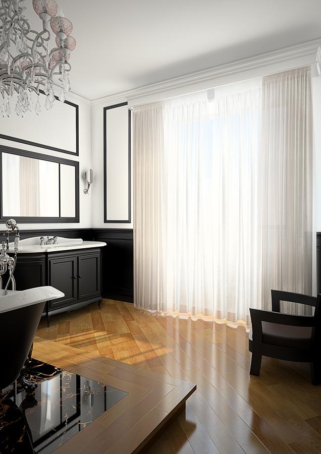 Sala da Bagno in stile neoclassico Arredo e Design 100 made in Italy