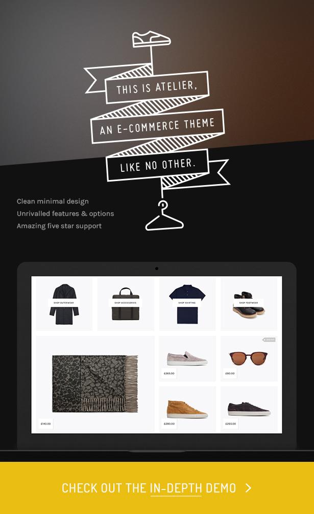 Atelier - Creative Multi-Purpose eCommerce Theme - 4