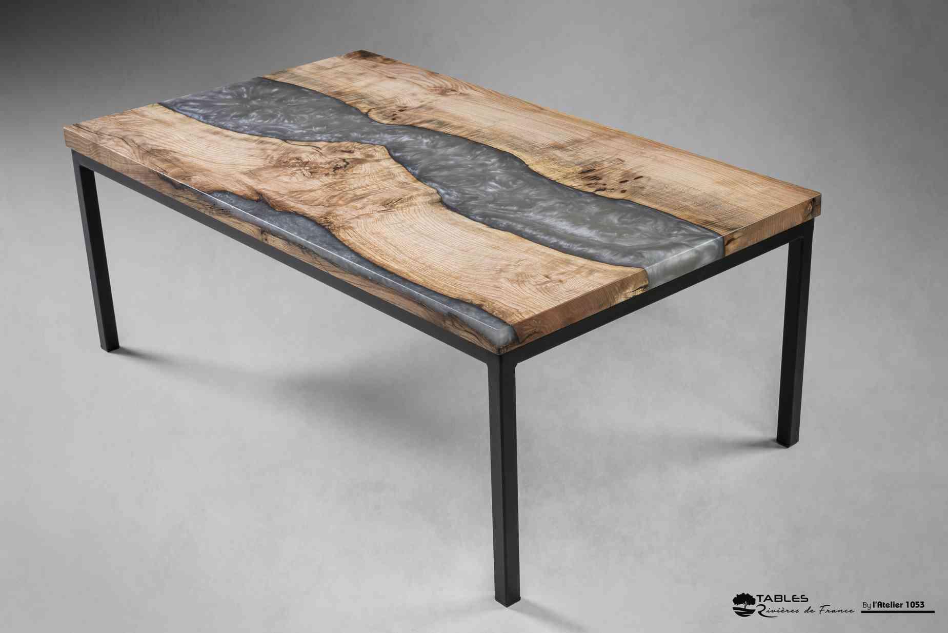 table la vienne orme epoxy