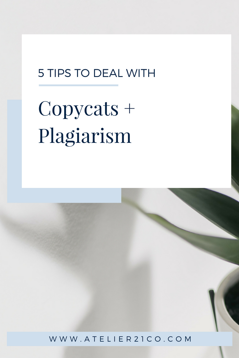Never get affected by copycats and plagiarism again when you apply this 5 steps in your business. #branding #copycats #tips #buildyourbusiness