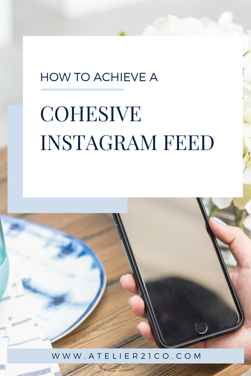 How to edit photos in your phone to get a cohesive Instagram feed