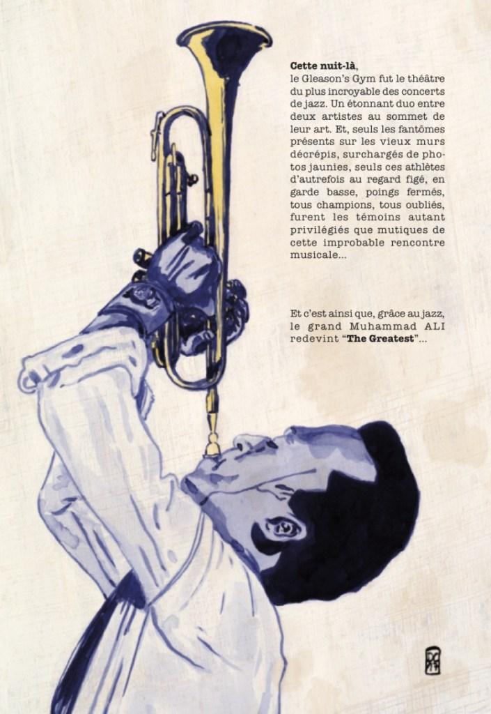 La planche 4 de la BD Jazz and Jabs par Dave Cart Hounist