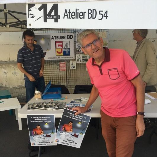 Au forum des associations du 14ème à Paris