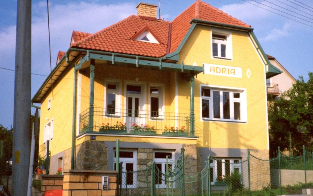 Rekonstrukce vily Adria Luhačovice