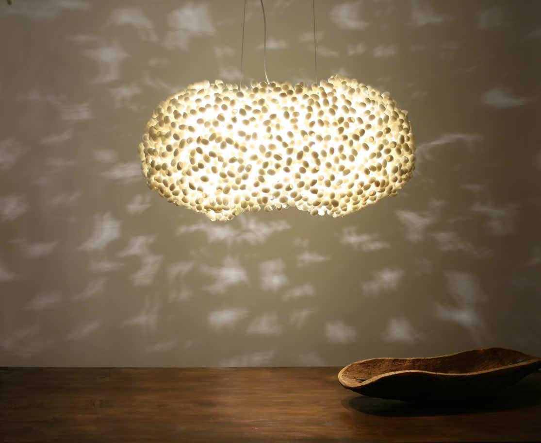 Hanglamp en grote lamp