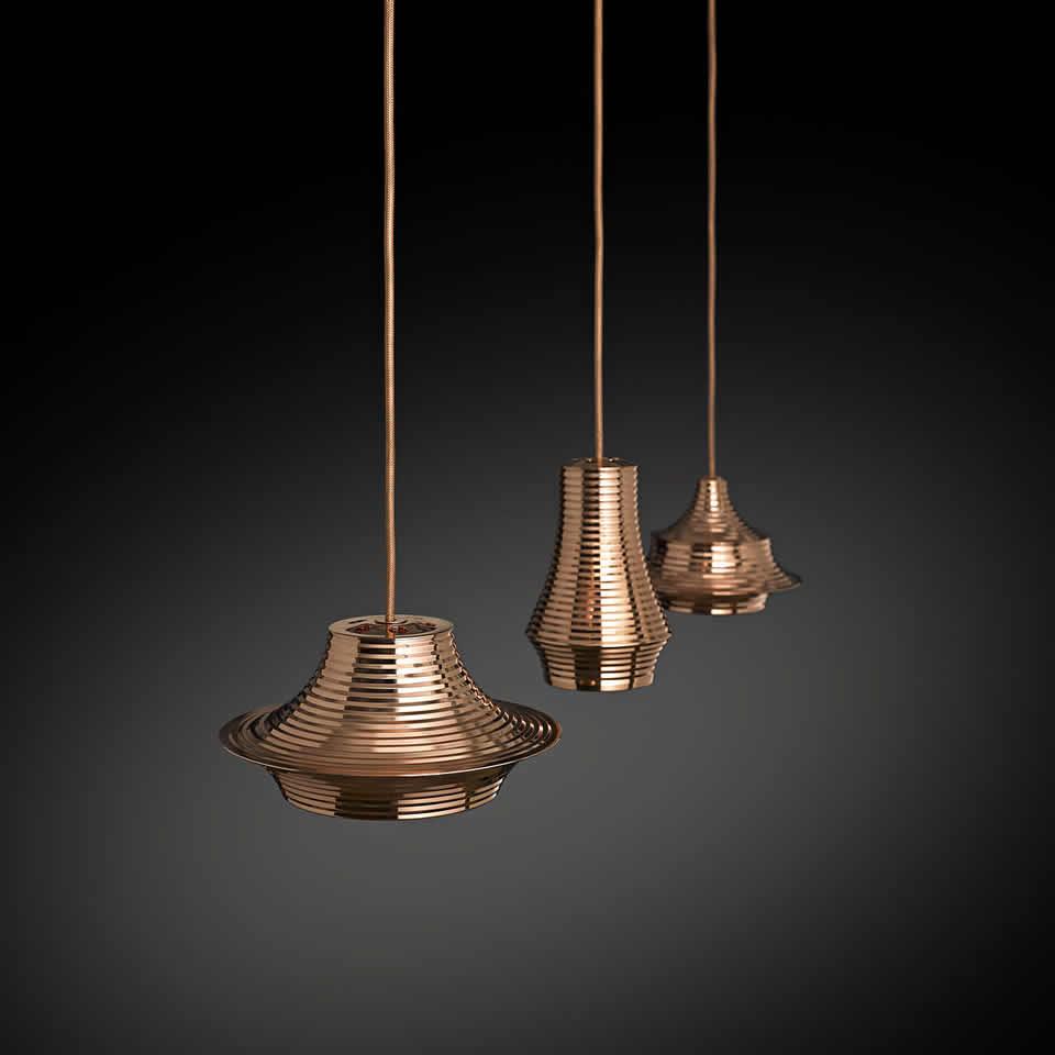 Strakke en moderne LED design hanglampen