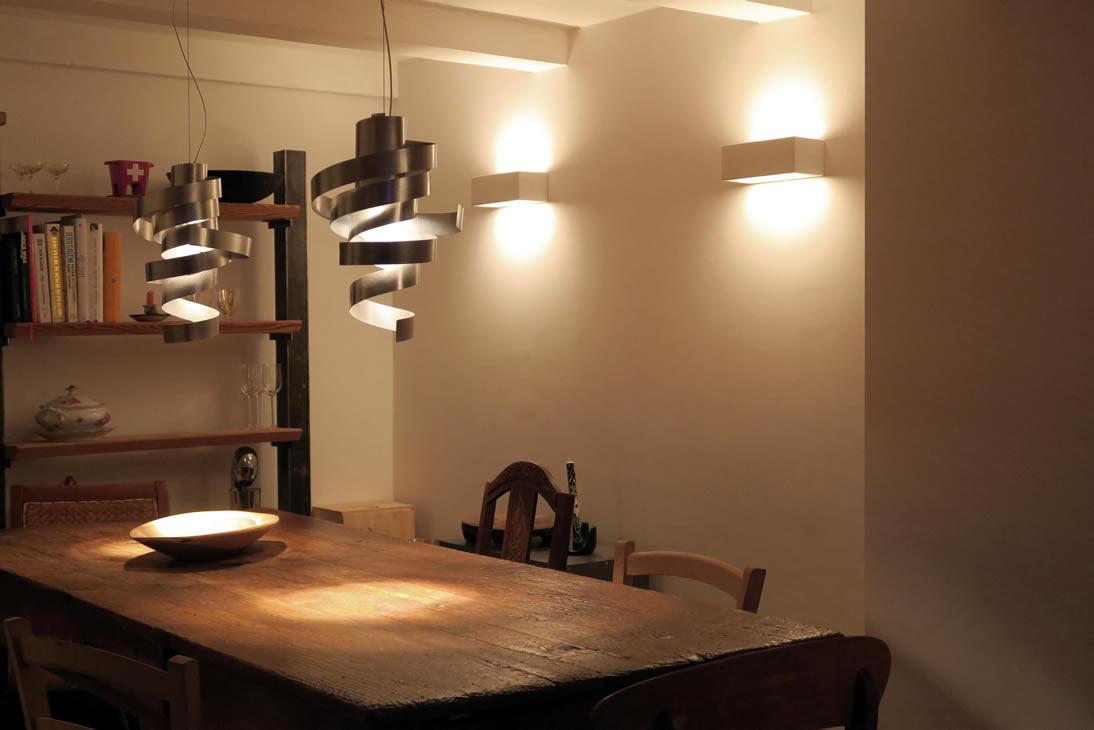 Moderne wandverlichting kantoor Pipedo
