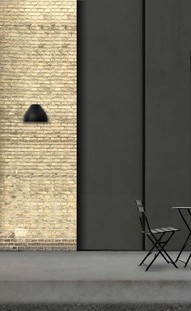 Moderne LED design buitenlamp voordeur