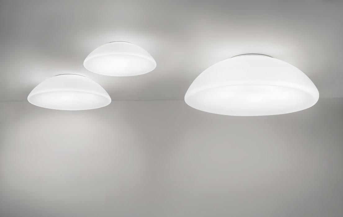 Grote glas plafondlampen