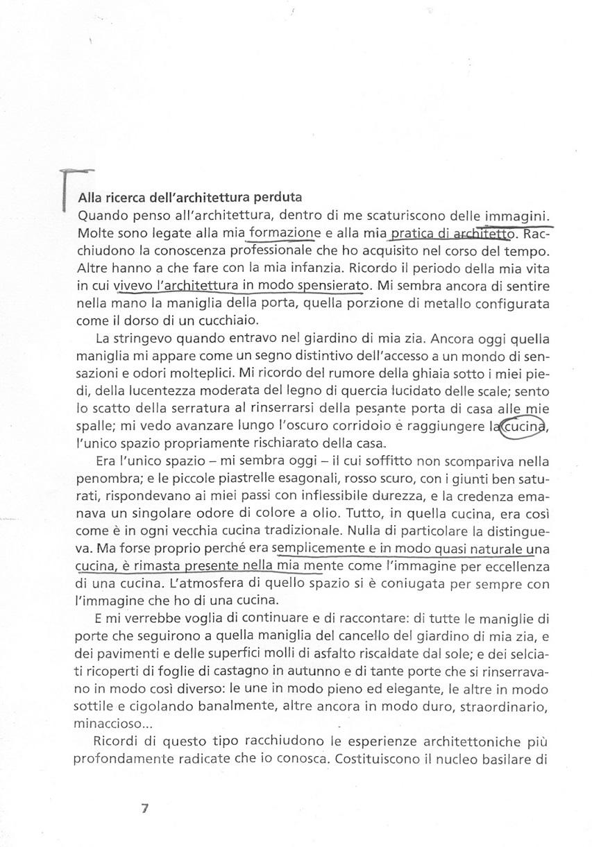 UN MODO DI VEDERE LE COSE di Peter Zumthor Pensare architettura_Presentato da Trane e Surace