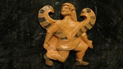 Orione (Scorpione) - ceramica e acrilico