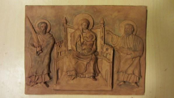 Natività con S.Elia (sinistra) e S.Isaia (destra)