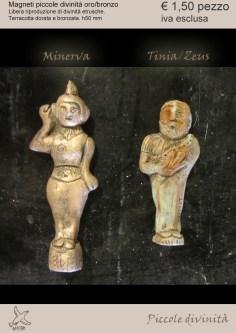 magneti piccole divinità etrusche