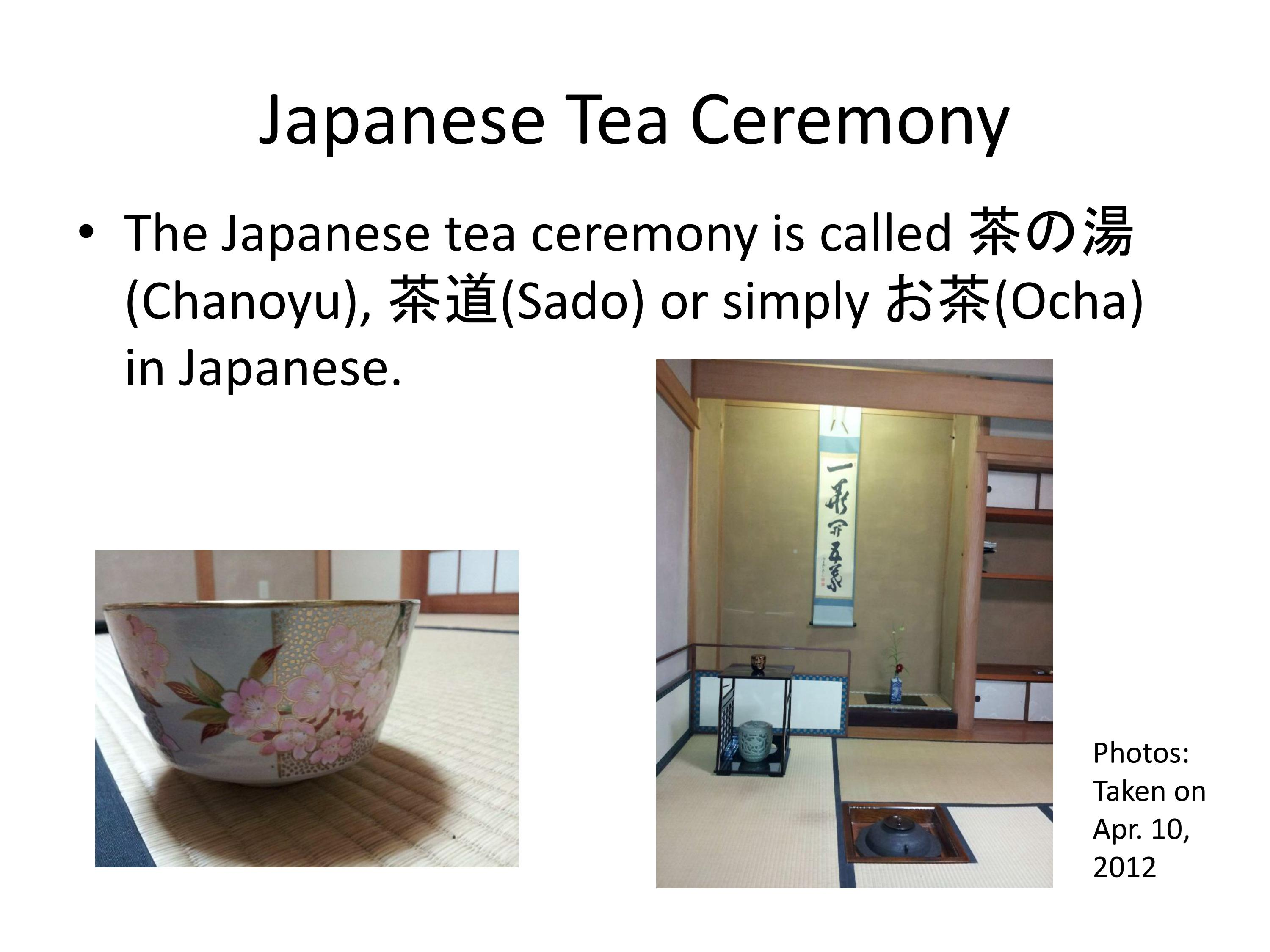 Japanese Tea Ceremony With Gsu Students On March 15