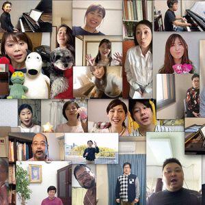 神戸市混声合唱団テレワーク写真