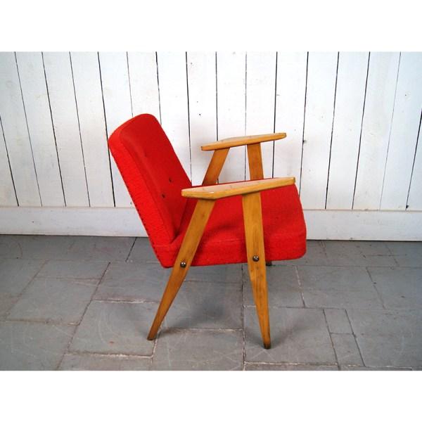 fauteuil-50's-rouge-2-pce-