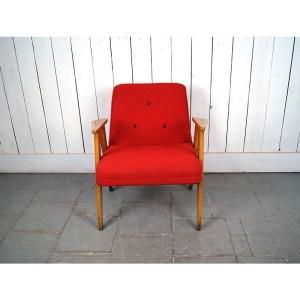 fauteuil-50's-rouge-3-pce-