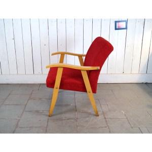 paire-fauteuils-rouge-bois-clair1