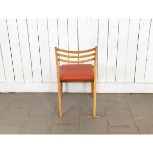 chaise-bois-clair-skai-orange-1