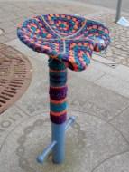 yarnbomb