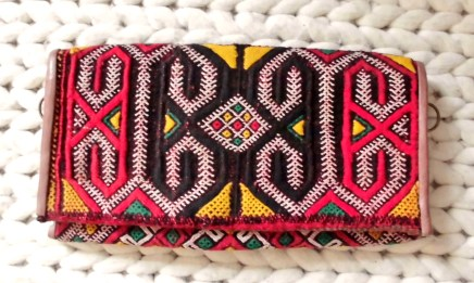 Handbag bought in Morocco.
