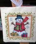 Snowman Ornament  Front