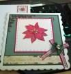 Poinsettia Christmas Card 2015