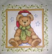 Finished Christmas Teddy