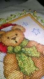 Christmas Teddy Details