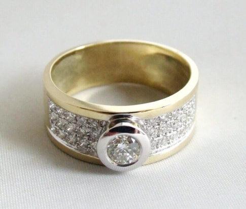 Bicolor ringen kopen Met en zonder diamanten  Juwelier Christian