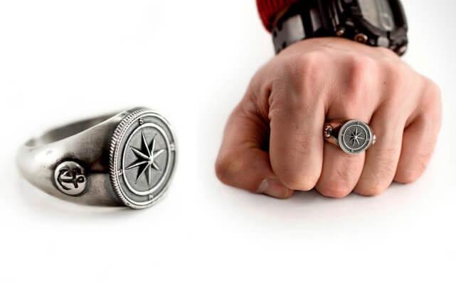 Heren ring kopen De mooiste heren ring  Juwelier Christian