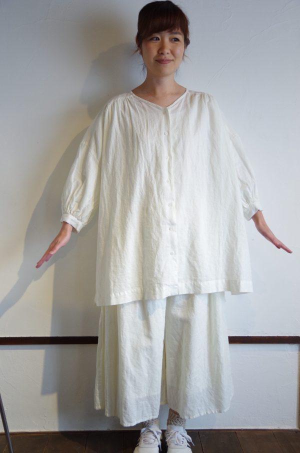 marble SUD(マーブルシュッド)/ リネンチュニックシャツ 3