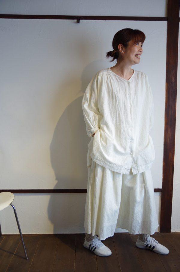 marble SUD(マーブルシュッド)/ リネンチュニックシャツ 1