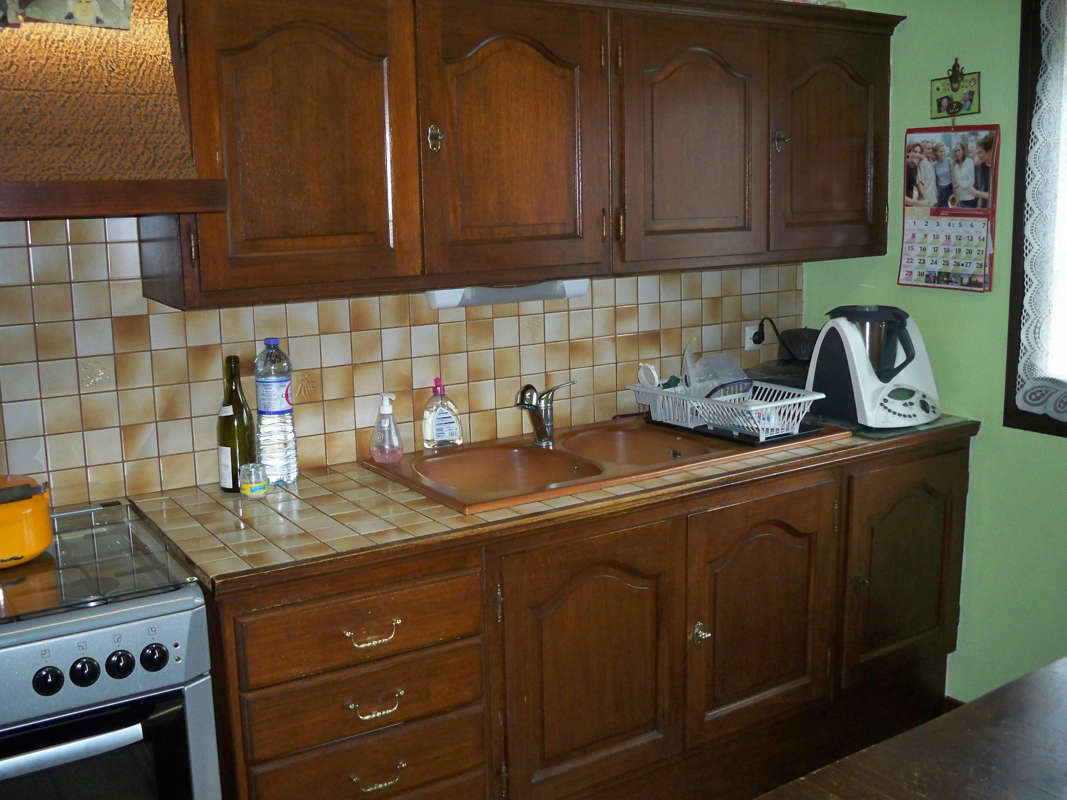 peinture pour meuble de cuisine en chene