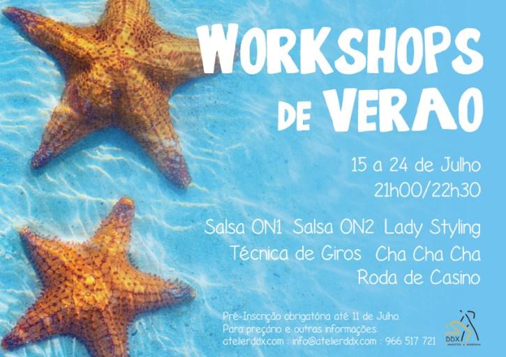 Workshops de Verão