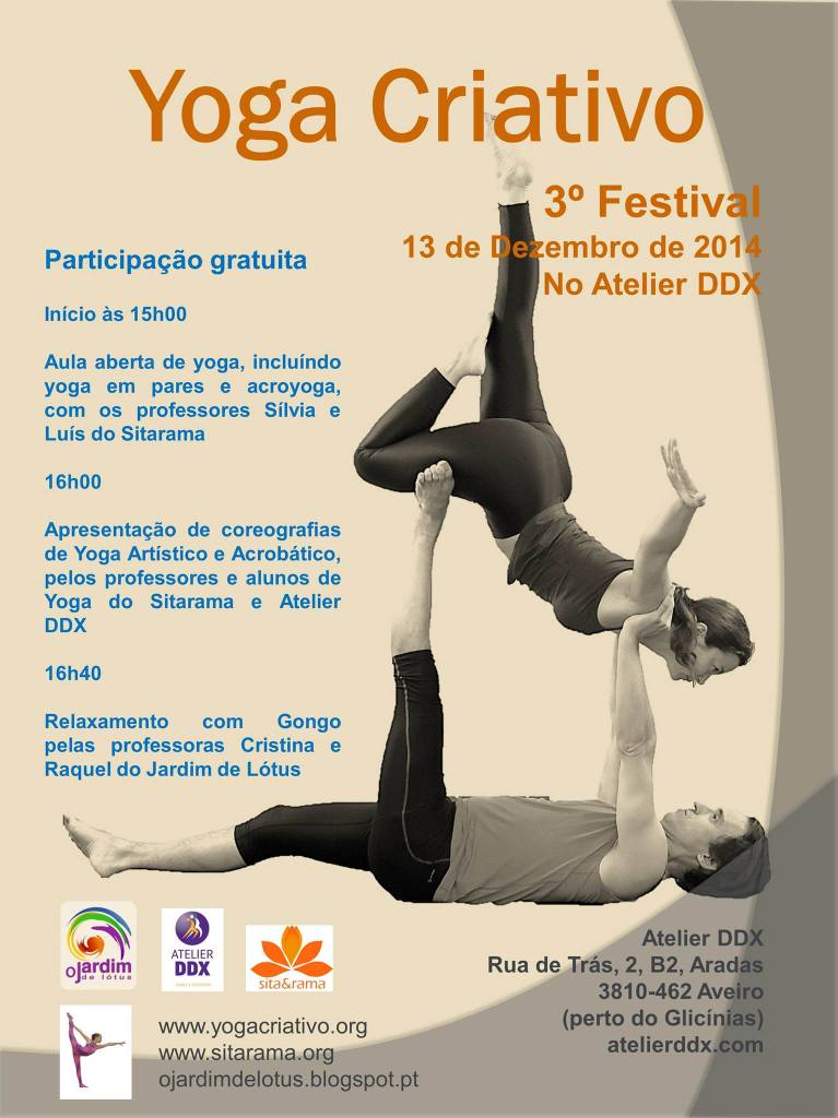 3º Festival de Yoga Criativo