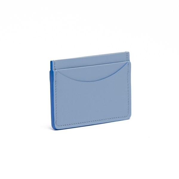 Atelier de Corium - Sky Blue Cardholder Side