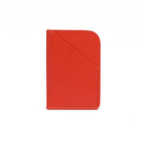 Atelier de Corium - Tangerine Minimalist Cardholder