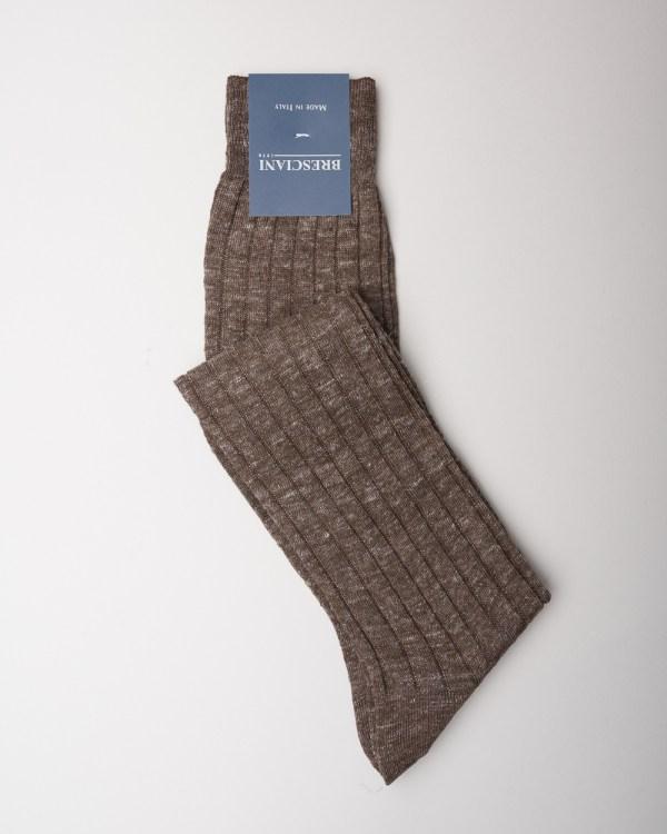 Bresciani Terra Linen Socks