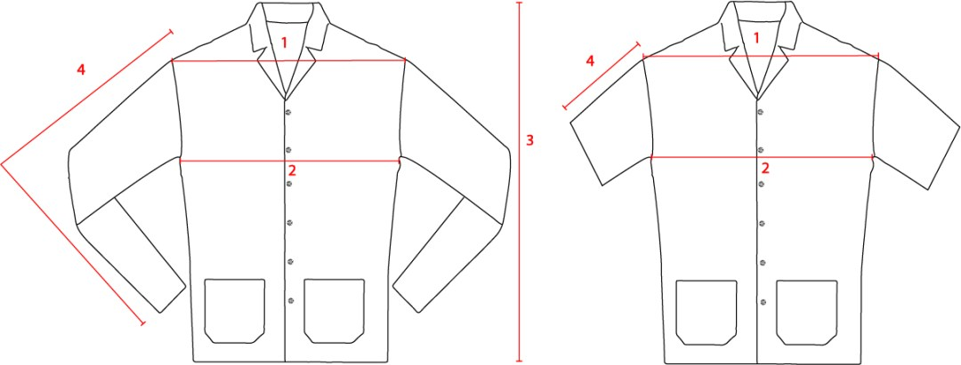 Long and Short Sleeve PJ Shirt