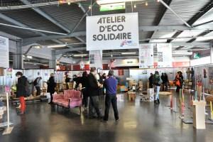 1er événement en novembre 2010 : les fonctions d'une recyclerie créative