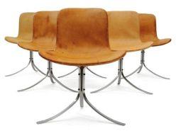 Tel Arne Jacobsen en son salon : design scandinave chez Pierre Bergé