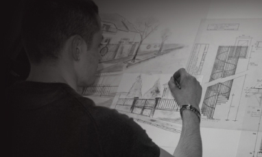 Conception d'un plan - étude personnalisée pour travaux effectué à l'atelier de métallerie