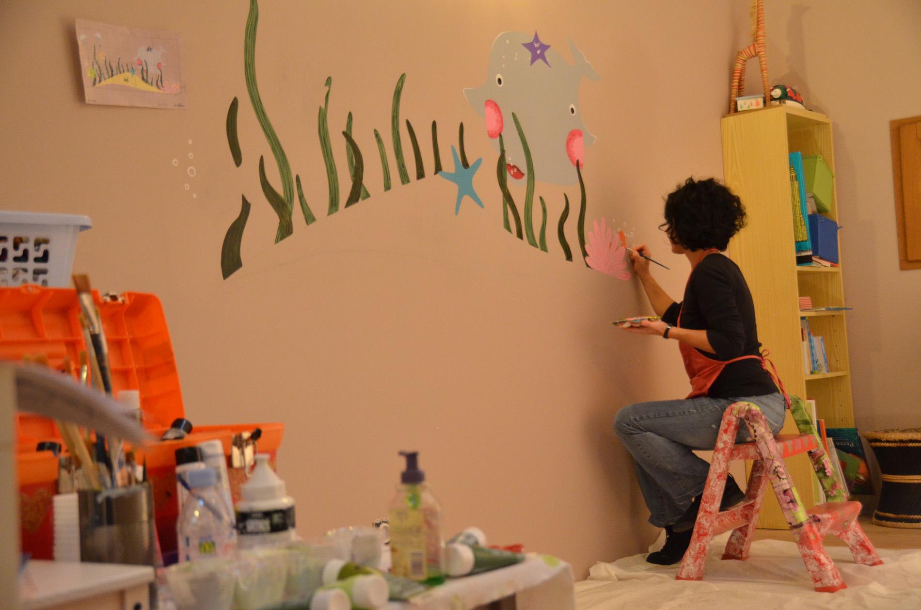 fresque-nature-peinture-mer-enfant-handpainting