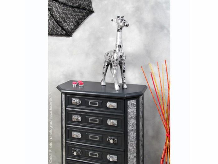 Meuble-art-deco-noir-aluminium-artiste-commode-1