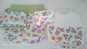Set asilo di Francesco: un vero atleta ... biciclette a tutta corsa!
