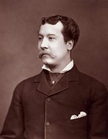 Mr. Charles Lickfold Warner (10 October 1846 – 12 February 1909)